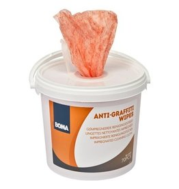 Anti-Graffiti wipes  - 70 stuks