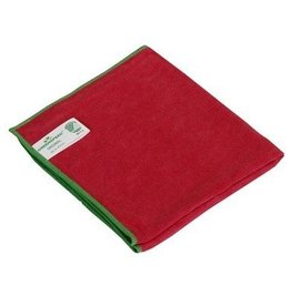 Lavette microfibres Greenspeed Original - 40 x 40 cm - ROUGE
