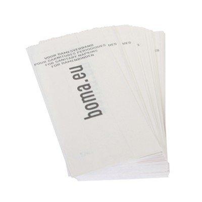 Damesverbandzakjes papier - 100 stuks