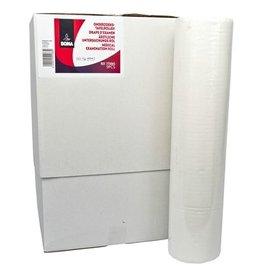 Draps d'examen - pure tissue - 2 plis - 50 m x 59 cm - 125 feuilles - BLANC - 9 rouleaux