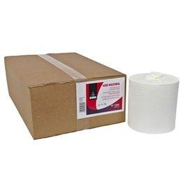 Midi Centerfeed Multirol - zuiver tissue - 1 laags - 280 m x 20 cm - WIT - 6 rollen
