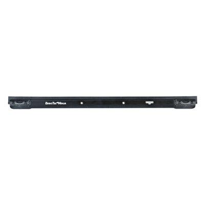 Rail in aluminium + soft-rubber voor ruitenwisser Unger ErgoTec Ninja - 45 cm