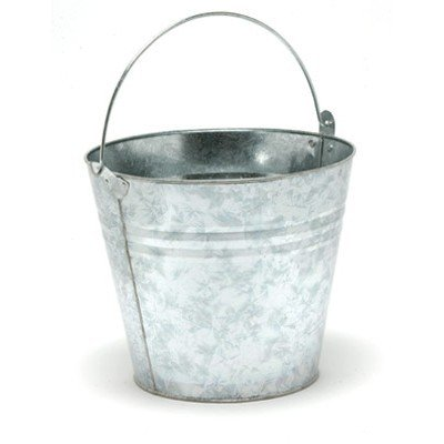 Seau métal galvanisé - 12 l