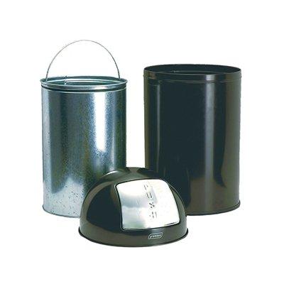 Push bin - 40 l - NOIR