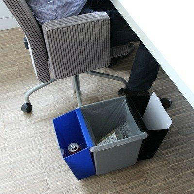 Bomabin Select afvalbak in kunststof - 27 l