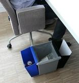 Bomabin Select afvalbak in kunststof - 21 l(Voorheen: Vierkante papiermand in kunststof - 21 l)