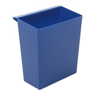 Bac pour Bomabin Select poubelle en plastique - BLEU(Avant: Bac pour corbeille à papier carrée - BLEU)