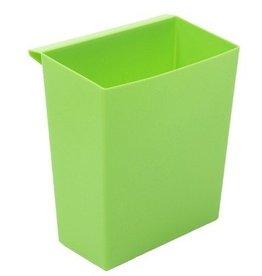 Inzetbak voor Bomabin Select afvalbak in kunststof - GROEN (Voorheen: Inzetbak voor vierkante papiermand - GROEN)