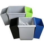 Inzetbak voor Bomabin Select afvalbak in kunststof - GROEN