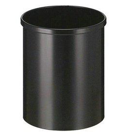Ronde afvalbak in metaal - 15 l