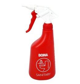 Vaporisateur mousse sanitaire - 650 ml - ROUGE