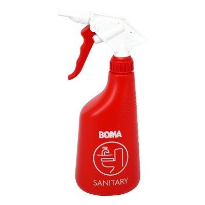 Verstuiver met schuimkop sanitair - 650 ml - ROOD