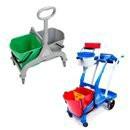 MopCar 2 - chariots doubles pour mop