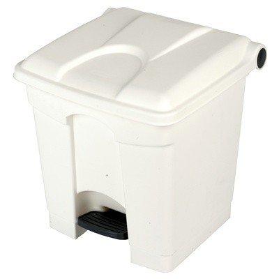 """Bomabin Select Pedal - 30 l - BLANC - couvercle BLANC(Avant: Poubelle à pédale """"Color"""" - 30 l - BLANC - couvercle BLANC)"""
