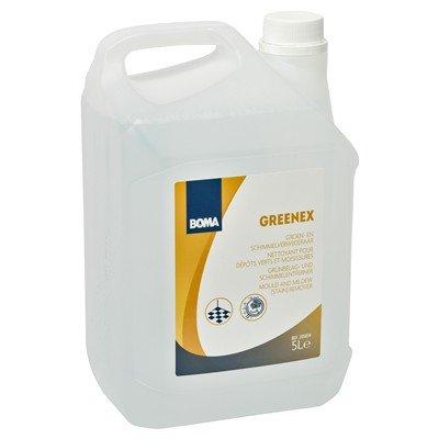 Greenex groen- en schimmelverwijderaar - 5 l (BE: BE-REG-00152, NL: 14485N, FR: 42594, LUX: 137/15/L)