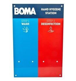Station d'hygiène des mains Boma 2