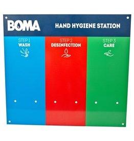 Station d'hygiène des mains Boma 3