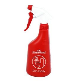 Verstuiver Greenspeed San Daily - 650 ml - ROOD