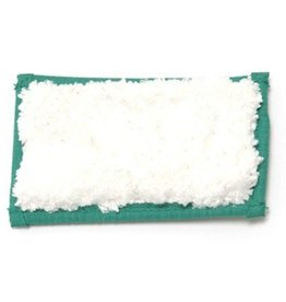 Tampon Scrubby pour tapis Greenspeed - 15 x 10 cm - BLANC