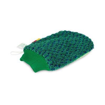Greenspeed Handschoen Scrub - GROEN/BLAUW