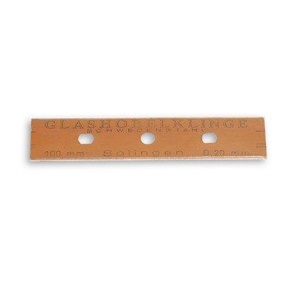 Vervangmes voor schraper - 10 cm - set 10 stuks