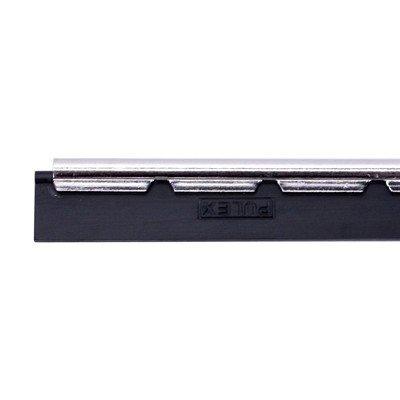Barrette en inox + caoutchouc pour raclette vitres Boma - 25 cm