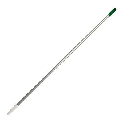 Alusteel met schroefdraad - 150 cm - GROEN
