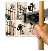 Ophangsysteem Toolflex met 5 steelhouders 30-40 mm