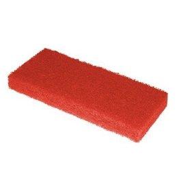 Tampon à récurer Scrubby - 10 x 15 x 2,5 cm - ROUGE