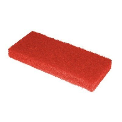 Scrubby schuurpad - 15 x 10 x 2,5 cm - ROOD