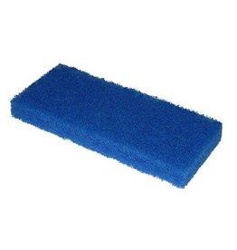 Scrubby schuurpad - 15 x 10 x 2,5 cm - BLAUW