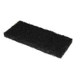 Scrubby schuurpad - 15 x 10 x 2,5 cm - ZWART