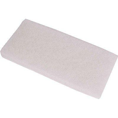 Scrubby schuurpad - 15 x 10 x 2,5 cm - WIT
