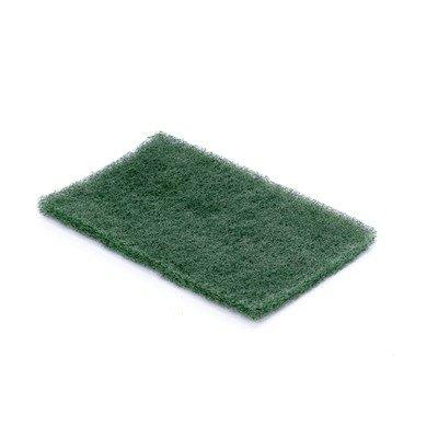Tampon à récurer Scrubby mince - 10 x 15 x 1 cm - VERT