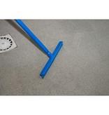 Eenbladige vloertrekker Boma Food - 40 cm - BLAUW