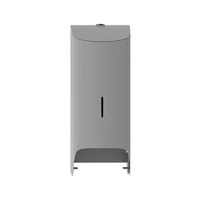 Admire toiletroldispenser duo doppenrol - RVS