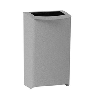 Admire afval-papierbak - 43 l - RVS