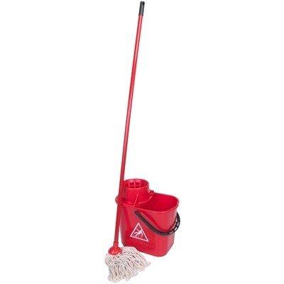 Spaanse mopemmer met mop