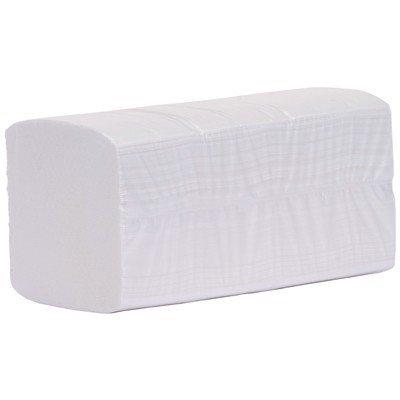 V-fold+ handdoekjes - zuiver tissue - 3 laags - 32 x 22 cm - WIT - 2500 stuks (20x125)