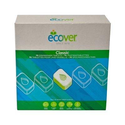 Ecover Pastilles Lave-Vaisselle - 1,4 kg - 70 pièces