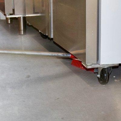 Schrobborstel Limbo - 25cm - WIT