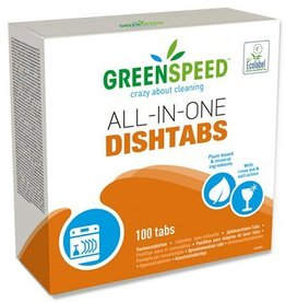 Vaatwastabletten All-in-one Greenspeed - 1,8 kg - 100 tabs