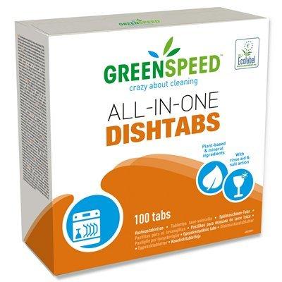 Vaatwastabletten All-in-one Greenspeed - 1,8 kg - 100 tabs