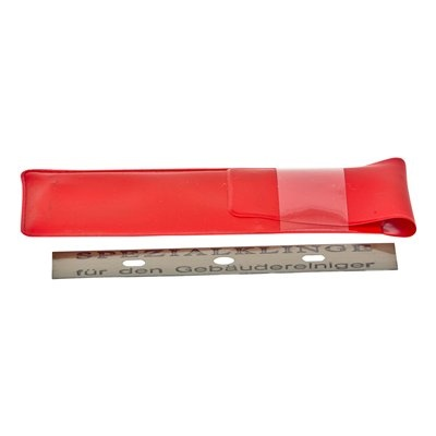 Ruitenschraper + vervangmesjes (set 10 stuks) - 10 cm