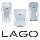 Lago wit dispensers