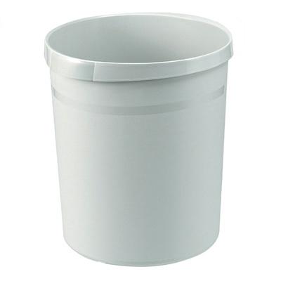 Poubelle ronde en plastique - 18 l
