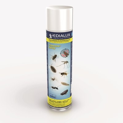 Bombe aérosol contre les insectes rampants et volants - 400 ml (BE: 896B, LUX: 23/09/L-000)