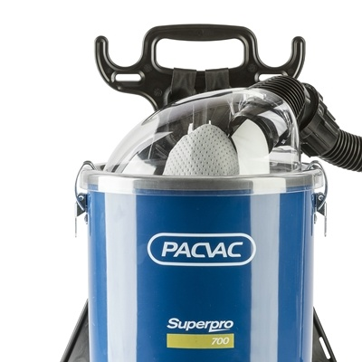 Ruggedragen stofzuiger met snoer PacVac Superpro 700