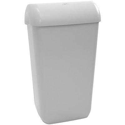 Admire afval-papierbak - 23 l - WIT
