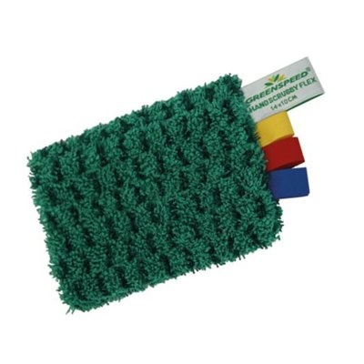 Greenspeed Handscrubby Flex - 14 x 10 cm - GROEN